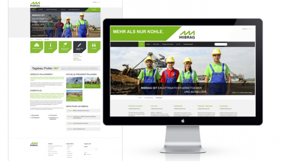 Mibrag-Webdesign-Webseite