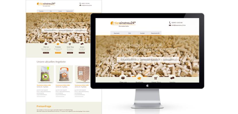 Natureinstreu-Webdesign-Webseite