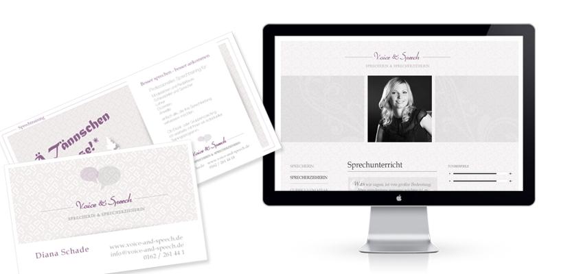 Voice-and-Speech-Webdesign-Flyer